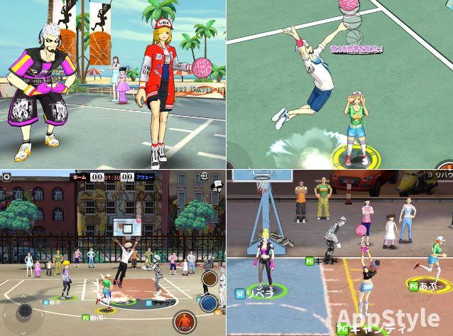 正統Hip-Hop風ストリートシティダンク|バスケ対戦スマホゲーム!
