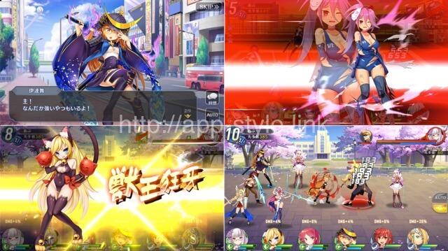 ソウル戦記Sのゲーム画面
