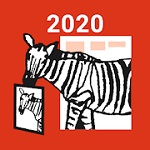 「しまうま年賀2020」のアイコン